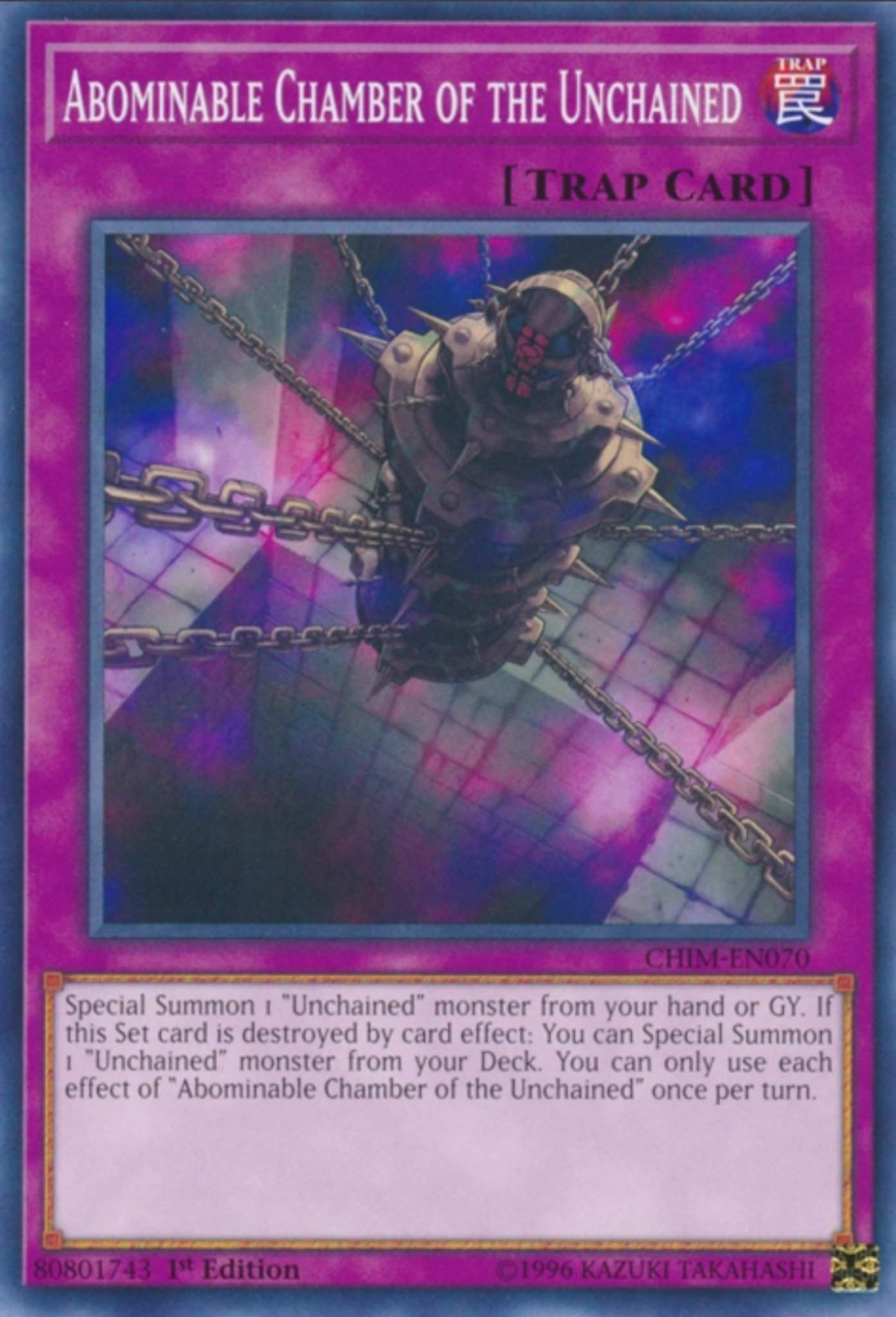 Complete Unchained Twins /& Abomination Link Deck Yu-Gi-Oh!