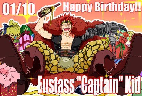 Happy Birthday To Eustass Kid