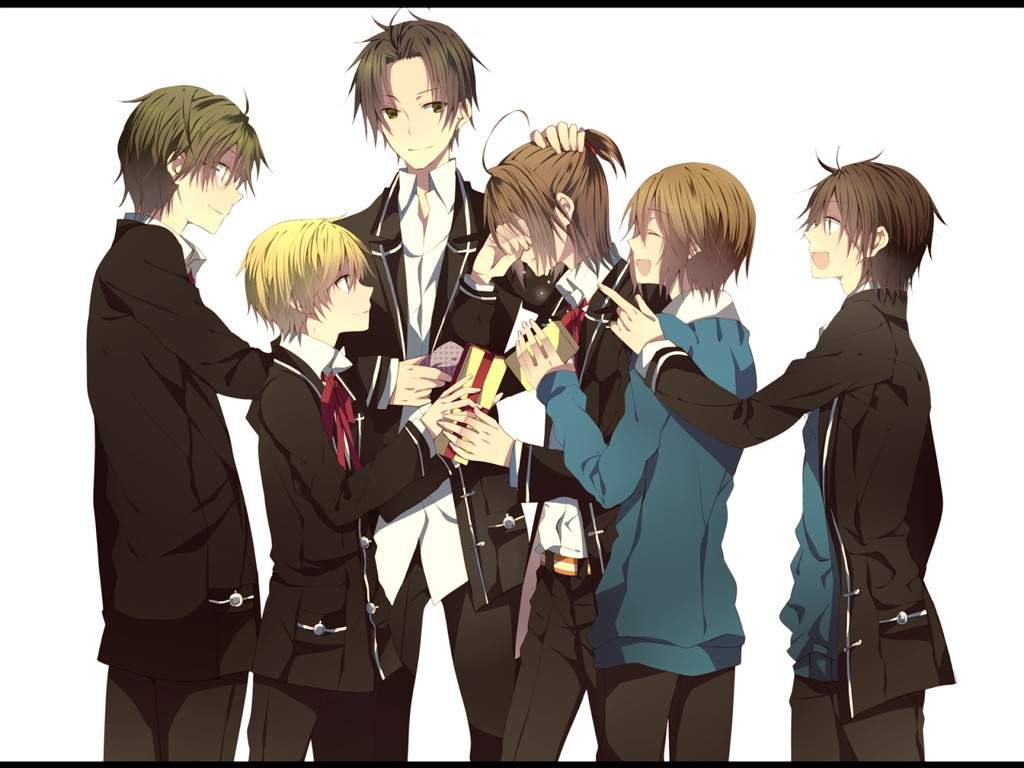 Post a picture of best friends!!! | Posts, Pictures of and ...  |Anime Group Of Friends Boys And Girls