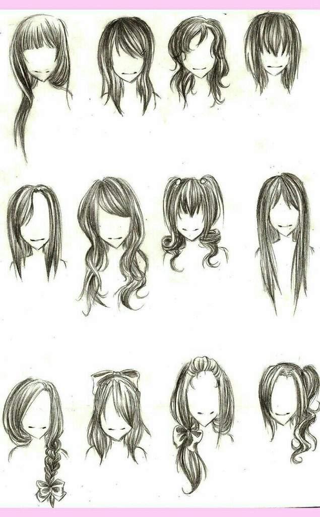 Hair References Anime Amino