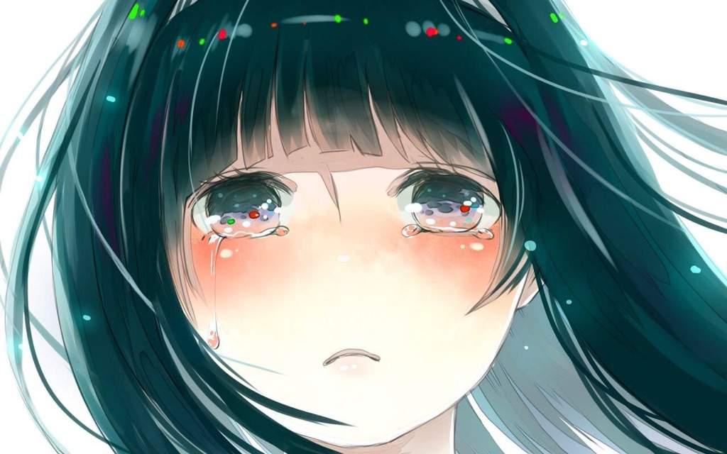 фото аниме со слезами