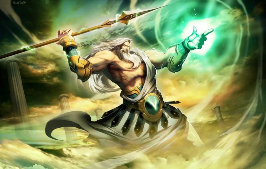 Resultado de imagem para Zeus anime