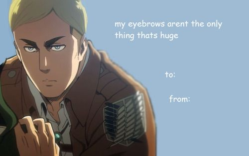 Featured image of post Attack On Titan Valentines Card Meme