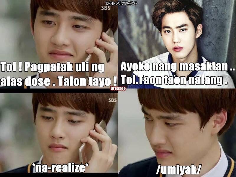 Funny Memes Tagalog 2013 : Exo tagalog memes k pop amino