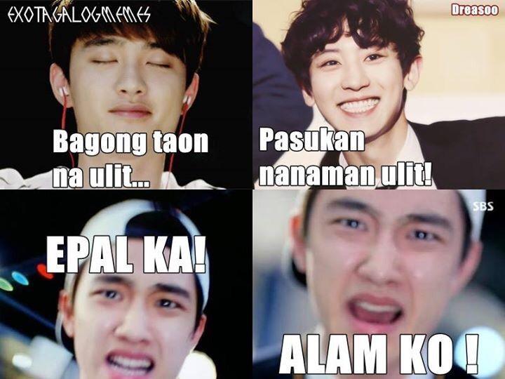 Funny Face Meme Tagalog : Exo tagalog memes wiki k pop amino