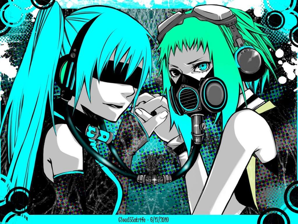 Cute girl with the gas mask anime amino - Anime girl with gas mask ...