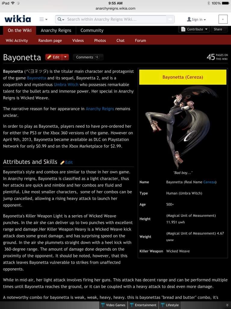 Anarchy Reigns Wikia bayonetta | wiki | video games amino