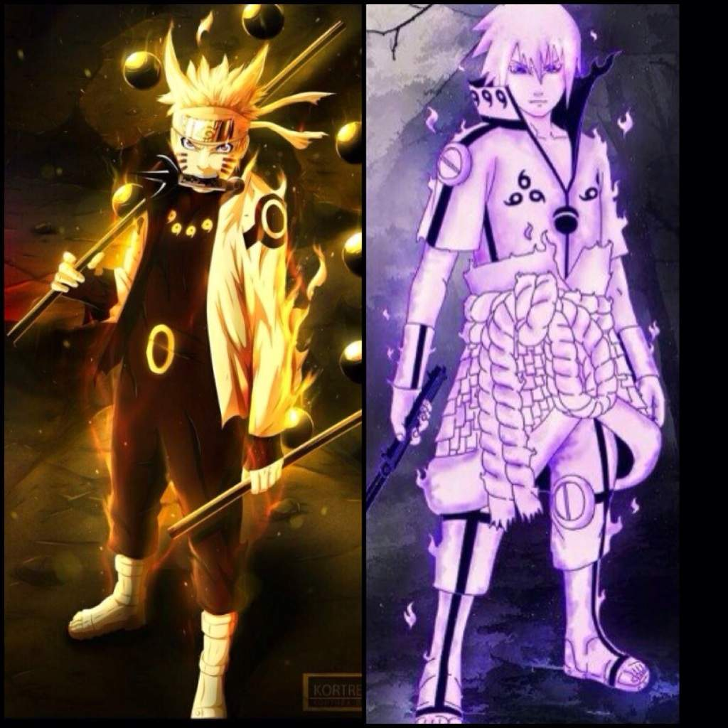 What If Sasuke Chakra Cloak Vs Naruto Rikudou Mode Or