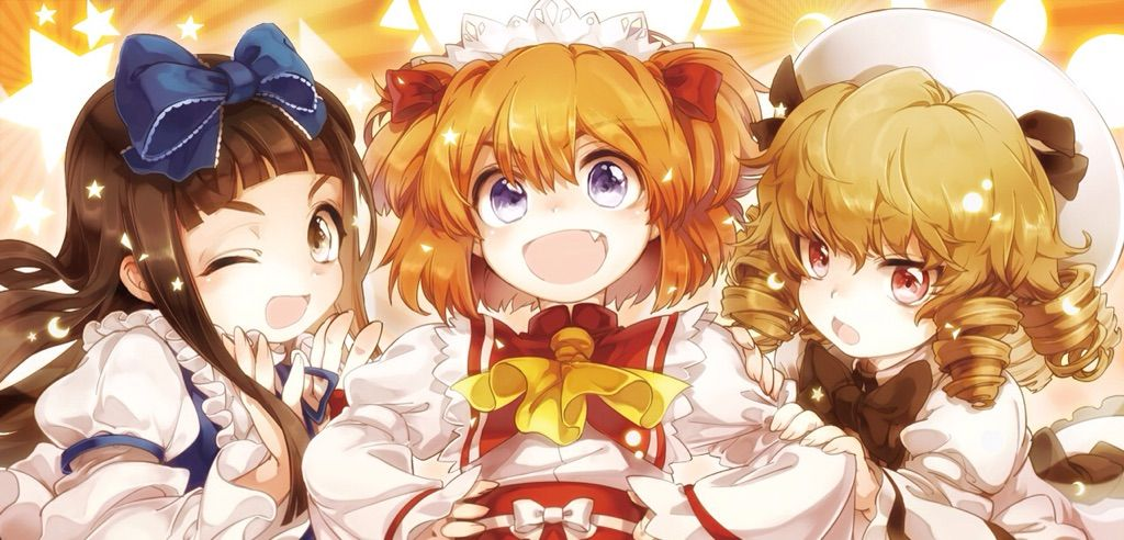 Touhou | Three Fairies of Lighto! | Anime Amino