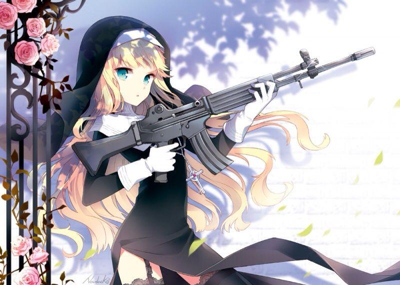 Sexy Gun Girls Anime Amino