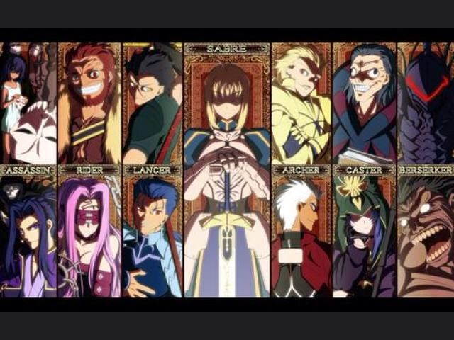 Image result for fate zero and fate stay night