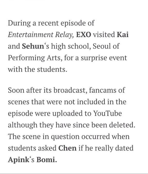 High school students ask rude questions towards EXO  | K-Pop