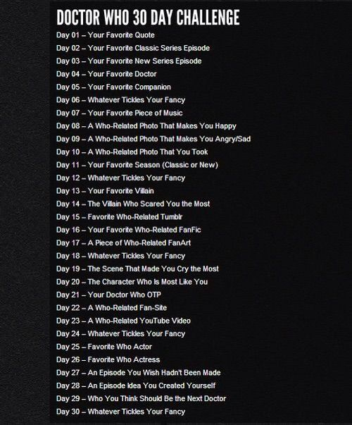Day 21 Doctor Who Amino