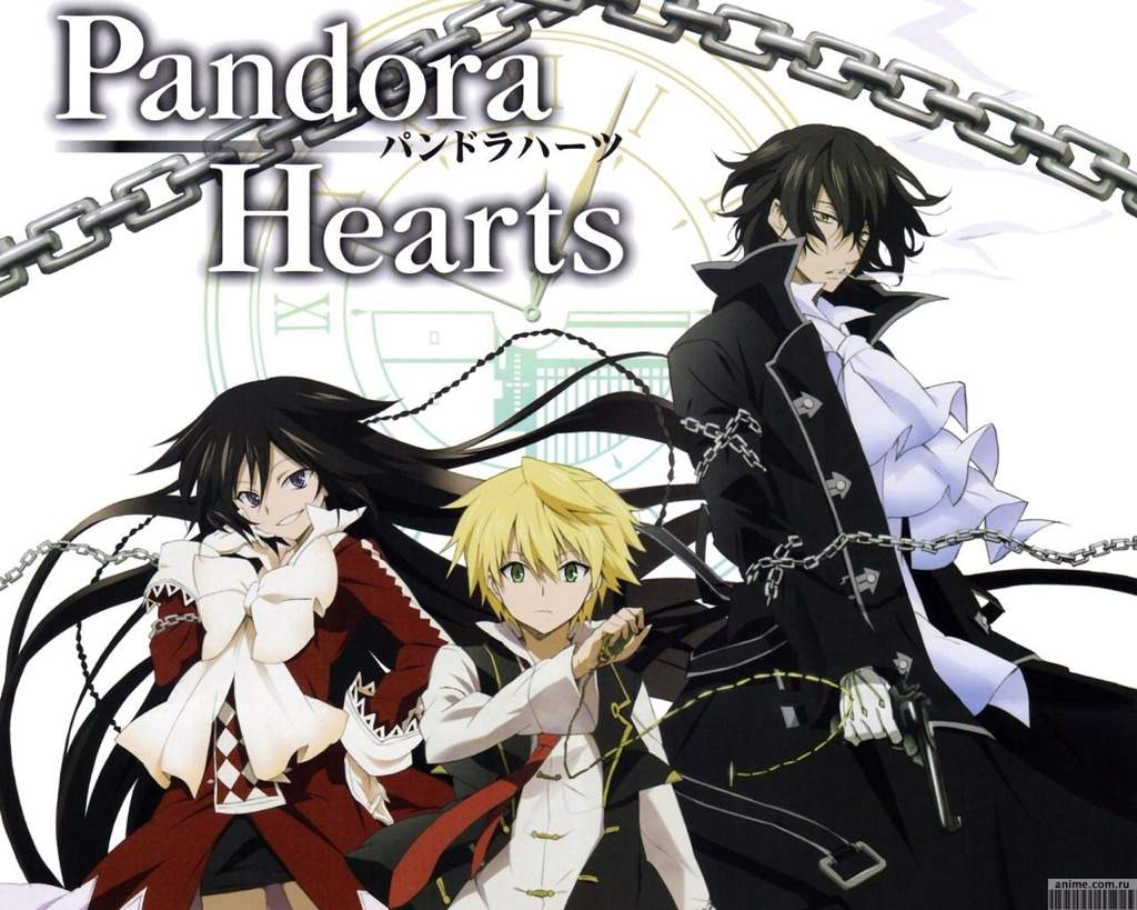 I want to hear your opinion on pandora hearts if its awesomegoodokayor horrible thank you for taking part of this