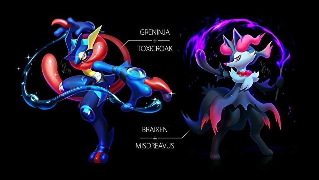 Pokemon Fusions from Cat-meff | Pokémon Amino | 1024 x 577 jpeg 50kB