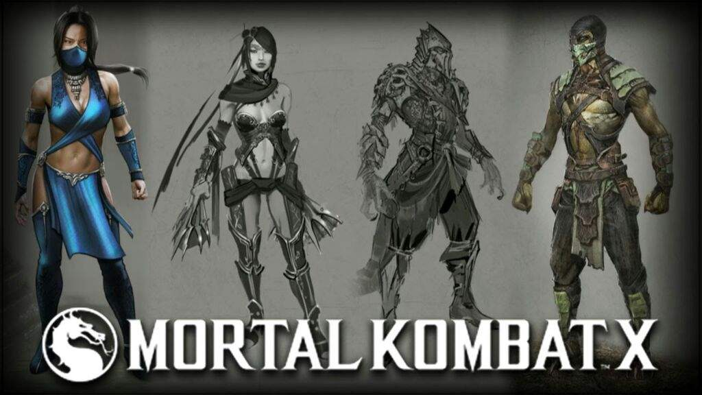 Mortal Kombat X Kitana And Reptile Concept Art And Other Fan Art