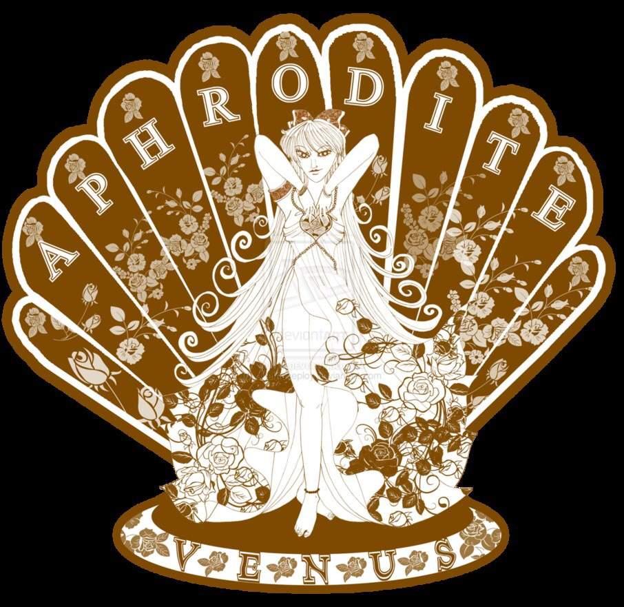aphrodite goddess symbol - 906×881