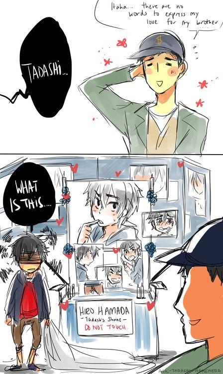 Hiro x Tadashi~ | Anime Amino