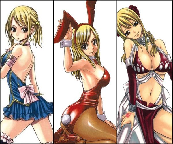 Fairy Tail Girls Boobs