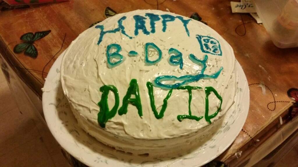 David Tennant Birthday Cake Doctor Who Amino