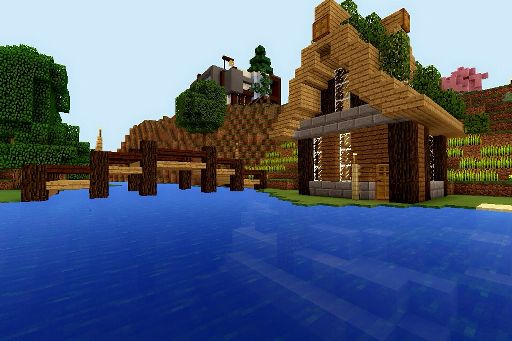 how to build a japanese temple in minecraft pe