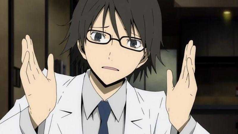 Image result for anime scientist