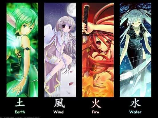 The 4 elements | Anime Amino
