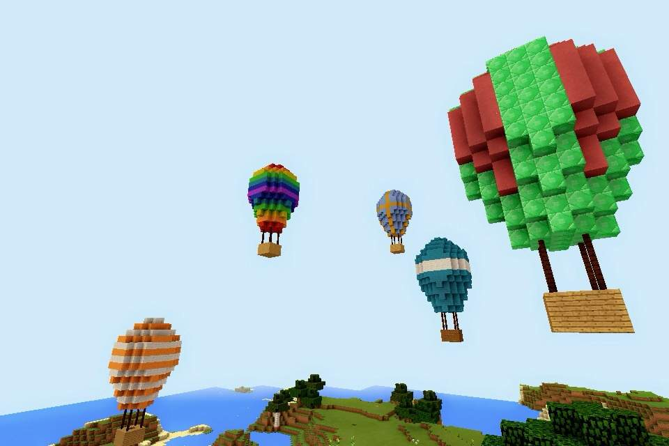 Minecraft PE: Build #10 Hot Air