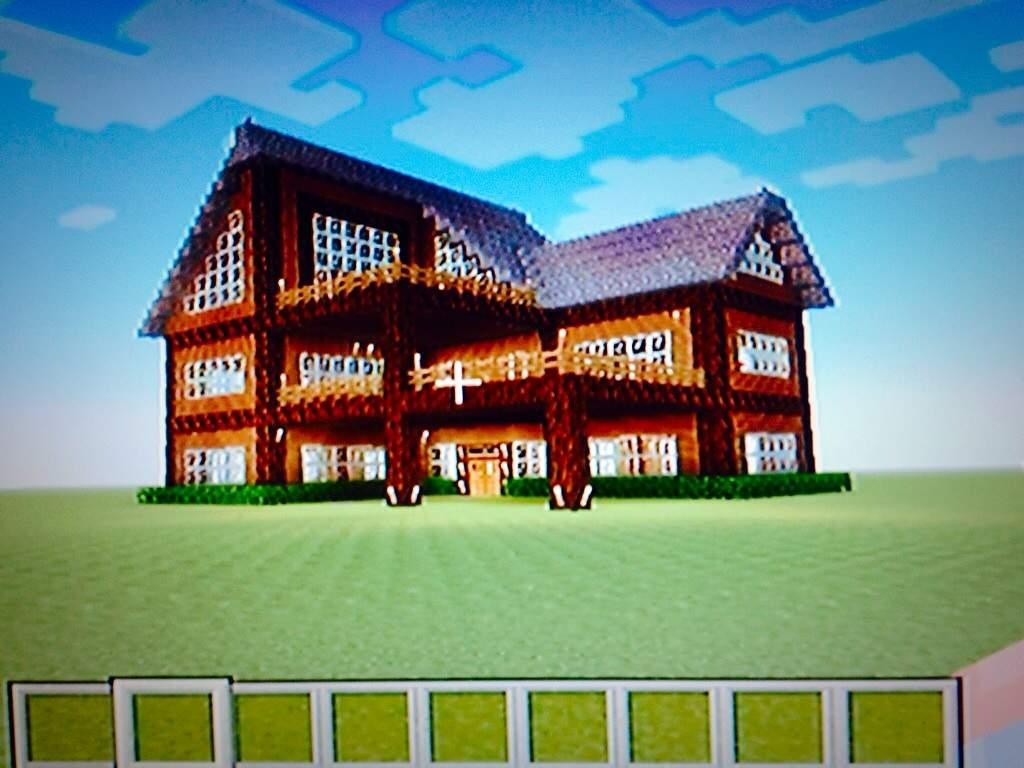 My Best Minecraft Survival House Video Games Amino