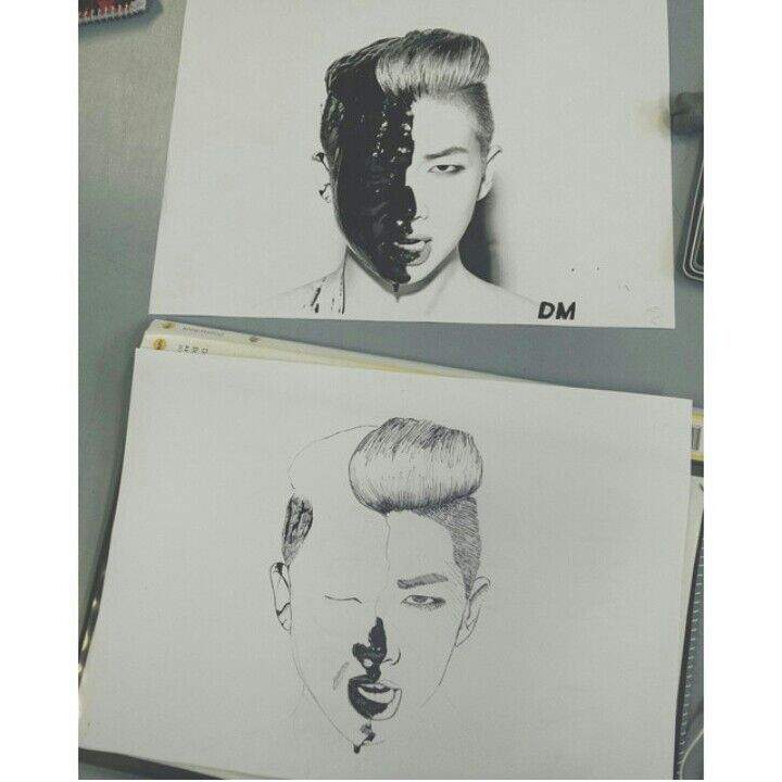 Rap Monster Rm Mixtape Art K Pop Amino
