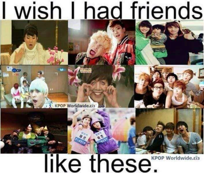 i wish i had friends like these k pop amino