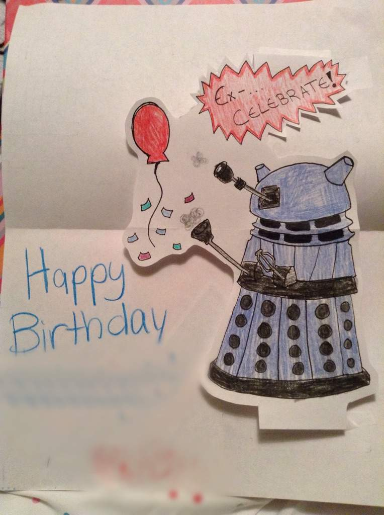 Doctor Who Birthday Card Doctor Who Amino