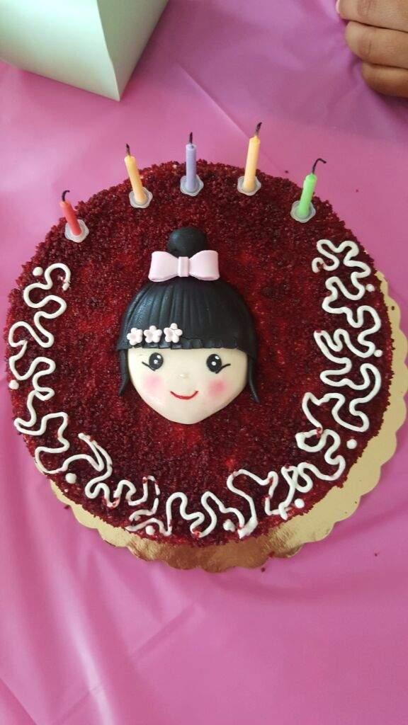 My Asian Inspired Birthday Cake K Pop Amino