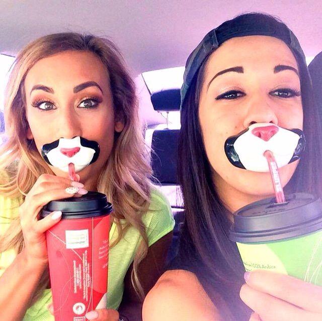 Carmella and Bayley Instagram Photos | Wrestling Amino
