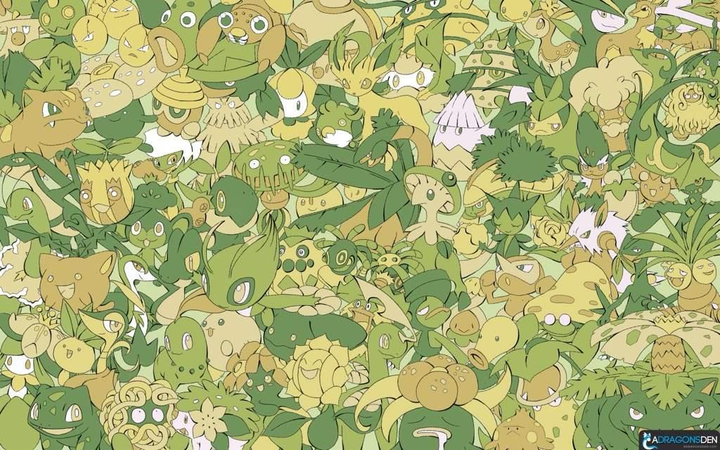 Top 6 Grass Type Pokemon Pokémon Amino