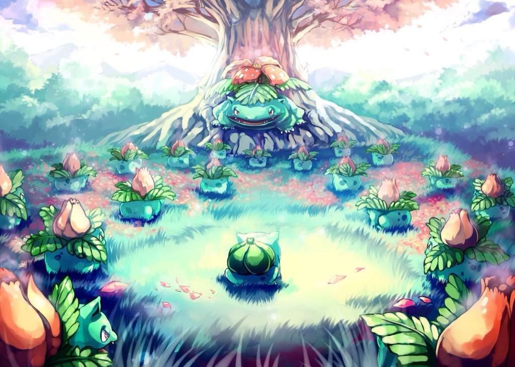 All Grass Pokemon List