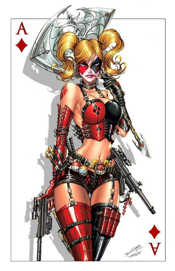 How sexy is Harley Quinn   Wiki   Comics Amino