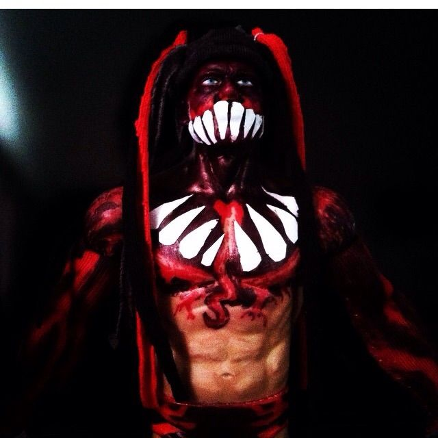 This is my finn balor custom, follow me on instagram for more pics