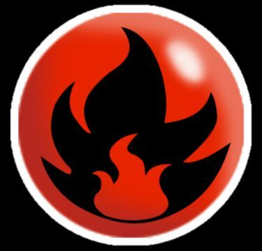Fire Typing Symbol Clipart Library