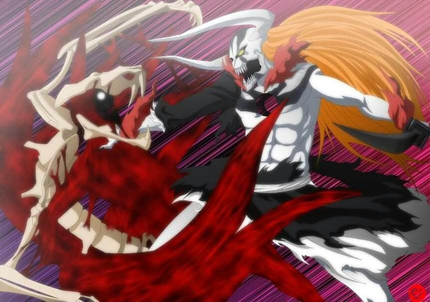 DEATHMATCH between Naruto ( with nine tail's power) and Ichigo ...