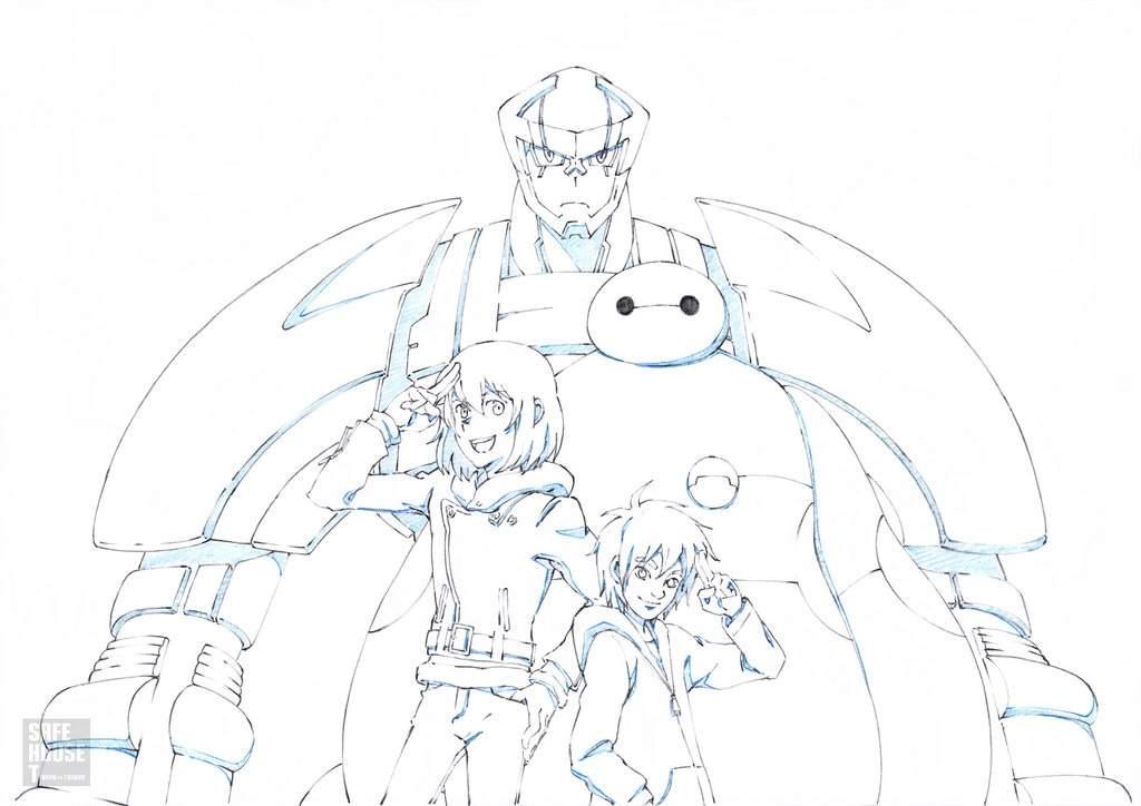 Learn How to Draw Yokai from Big Hero 6 (Big Hero 6) Step by Step ... | 724x1024