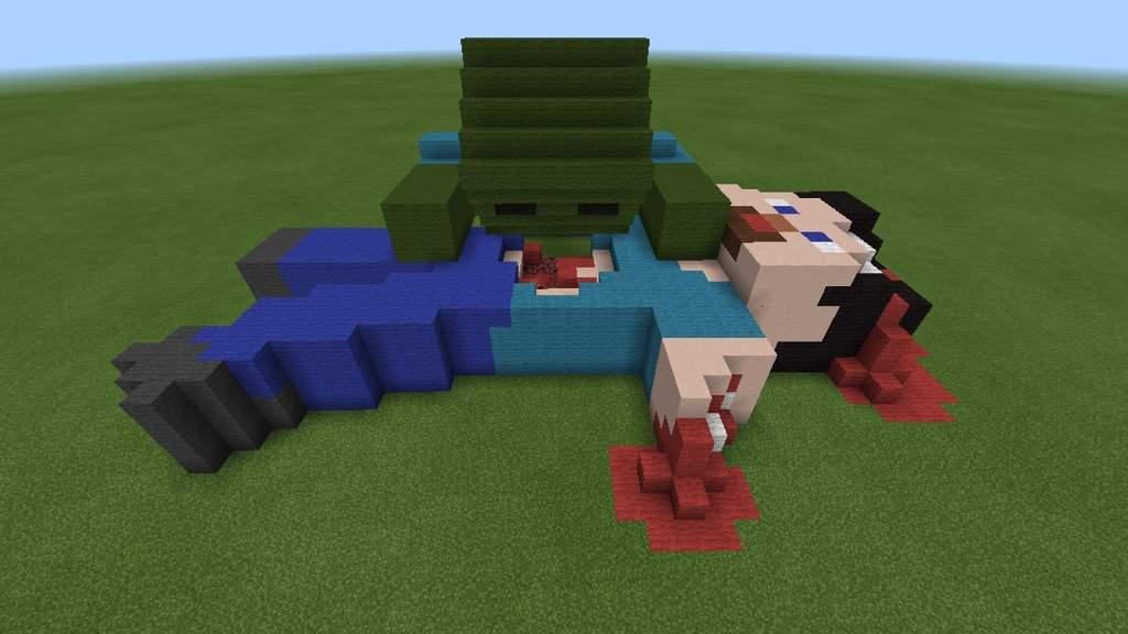 Zombie Eating Steve Minecraft Amino