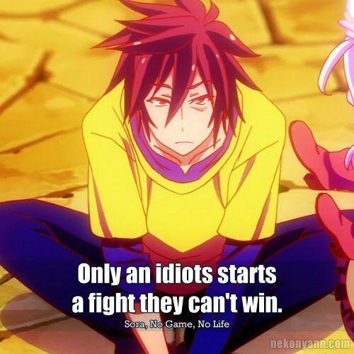 No Game No Life Quotes   Anime Amino