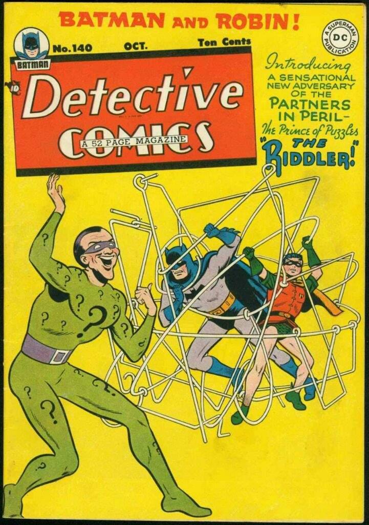 Bildergebnis für Detective Comics#140 (Okt. 1948)