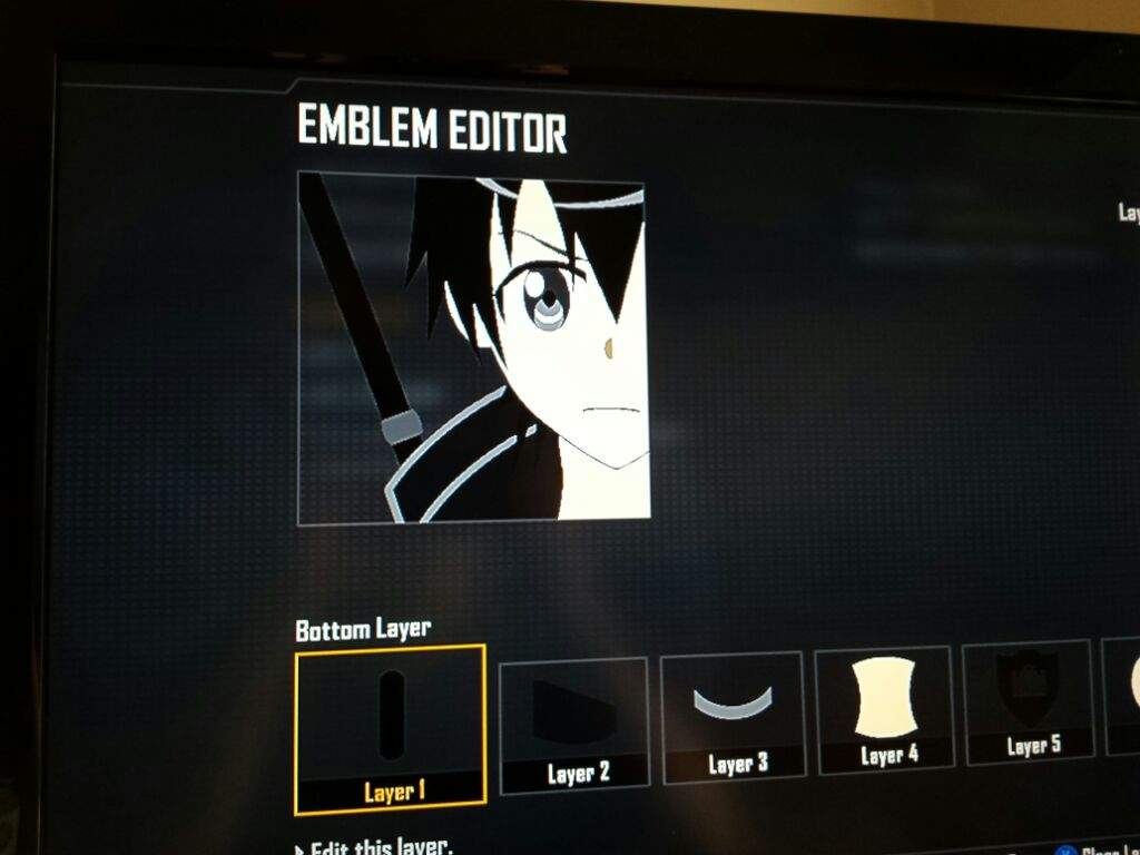 My black ops ii emblems video games amino 1 kirito from sword art online biocorpaavc