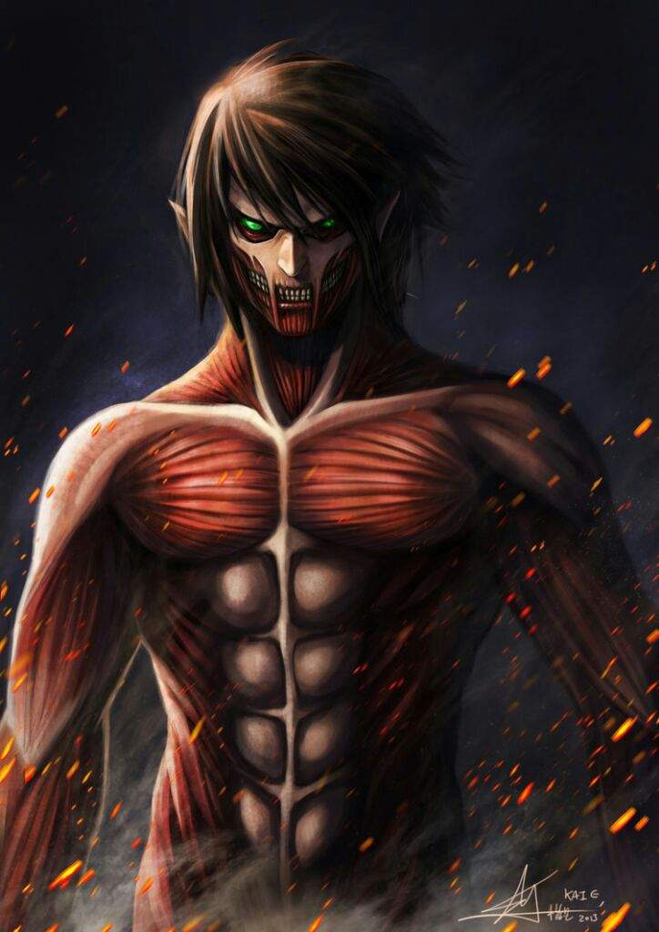CAPTAIN LEVI SMILES AND GOD MODE!!! : Attack on titan ...