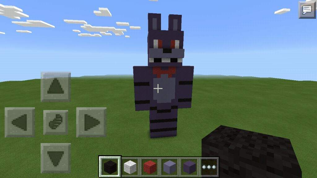 minecraft how to build a statue