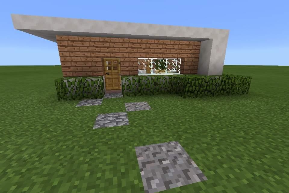 My small modern house MCPE Minecraft Amino