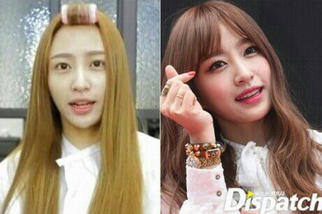 Kpop Girl Idols No Makeup Saubhaya Makeup