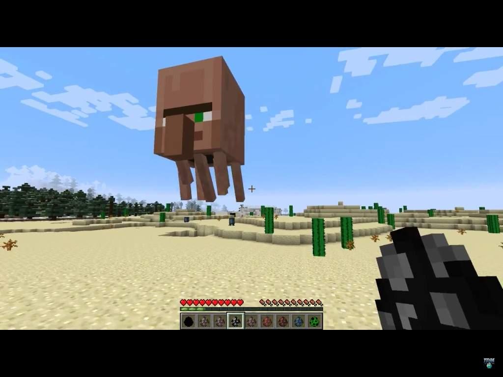 The Villager Ghast Minecraft Amino